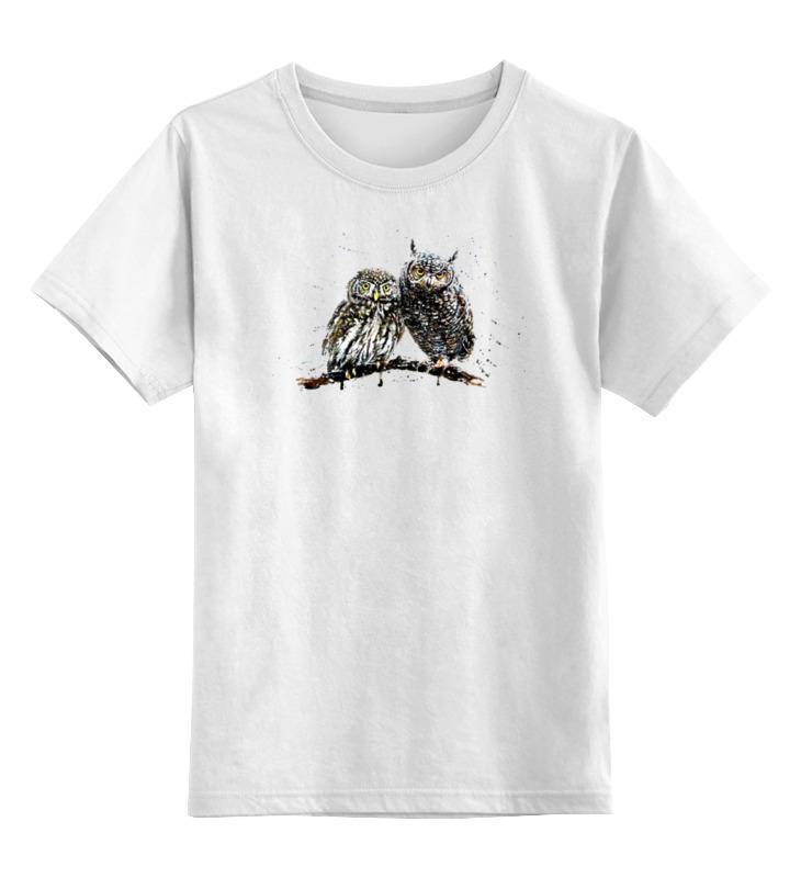 Детская футболка классическая унисекс Printio Совы. puzzle 500 яркие совы alpz500 7701