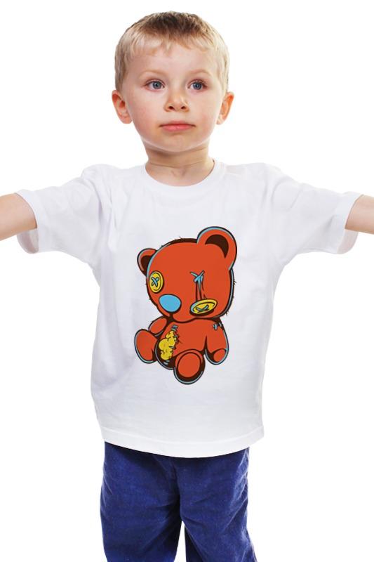 Детская футболка классическая унисекс Printio Dead teddy bear футболка стрэйч printio dead teddy bear