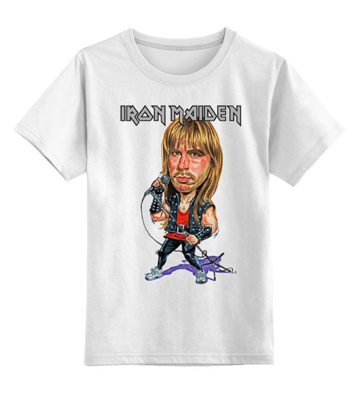 Детская футболка классическая унисекс Printio Iron maiden band футболка классическая printio iron maiden band