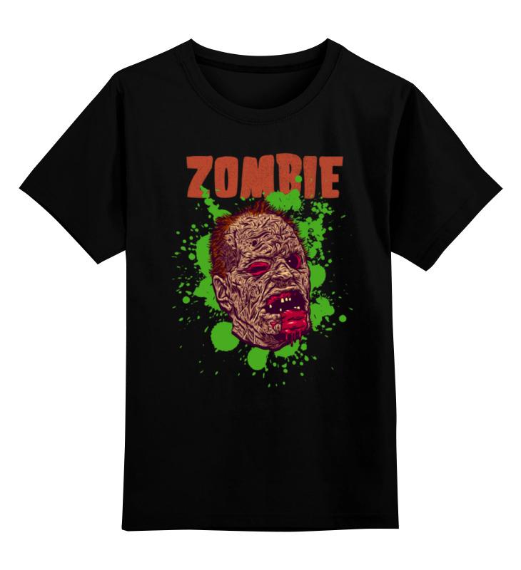 Детская футболка классическая унисекс Printio Зомби арт детская футболка классическая унисекс printio пиксельные зомби