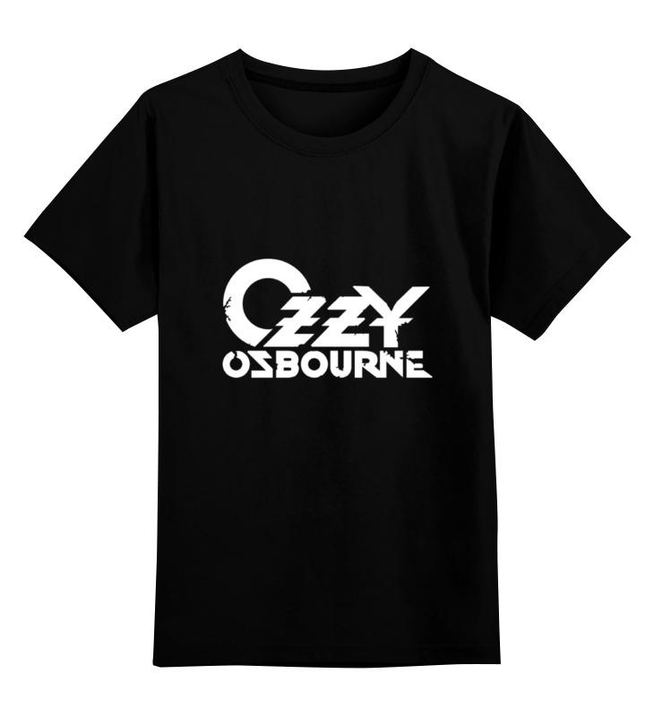 Детская футболка классическая унисекс Printio Ozzy osbourne cd ozzy osbourne live at the budokan
