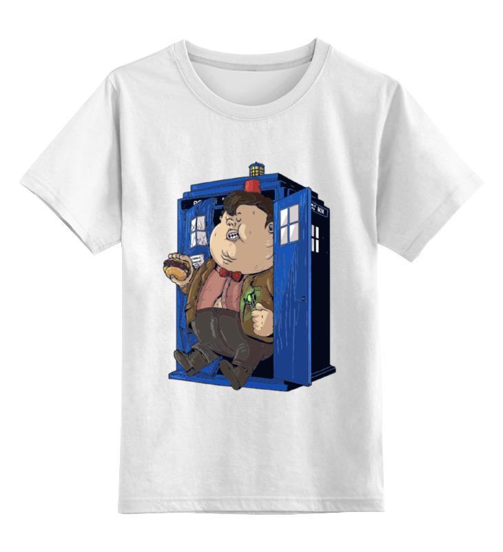 Детская футболка классическая унисекс Printio Fat doctor who футболка рингер printio доктор кто doctor who