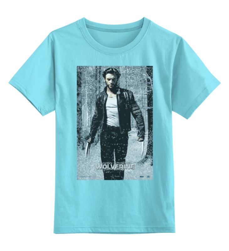 Детская футболка классическая унисекс Printio Wolverine / расомаха детская футболка классическая унисекс printio x men wolverine