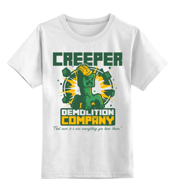 Printio Крипер. майнкрафт футболка классическая printio minecraft майнкрафт creeper крипер
