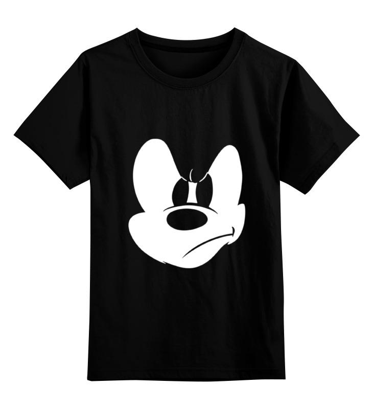 Детская футболка классическая унисекс Printio Angry mickey детская футболка классическая унисекс printio мачете