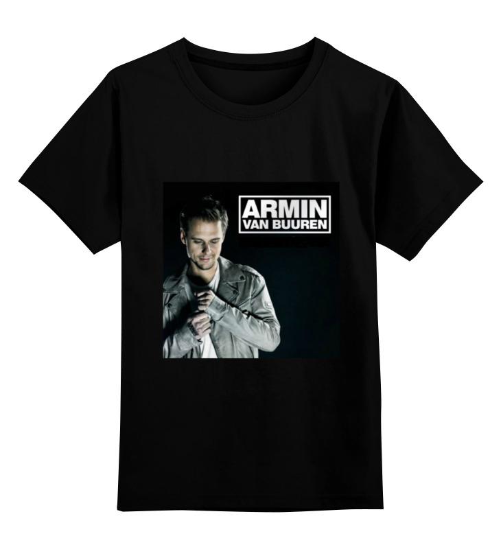 Детская футболка классическая унисекс Printio Armin van buuren детская футболка классическая унисекс printio van basten