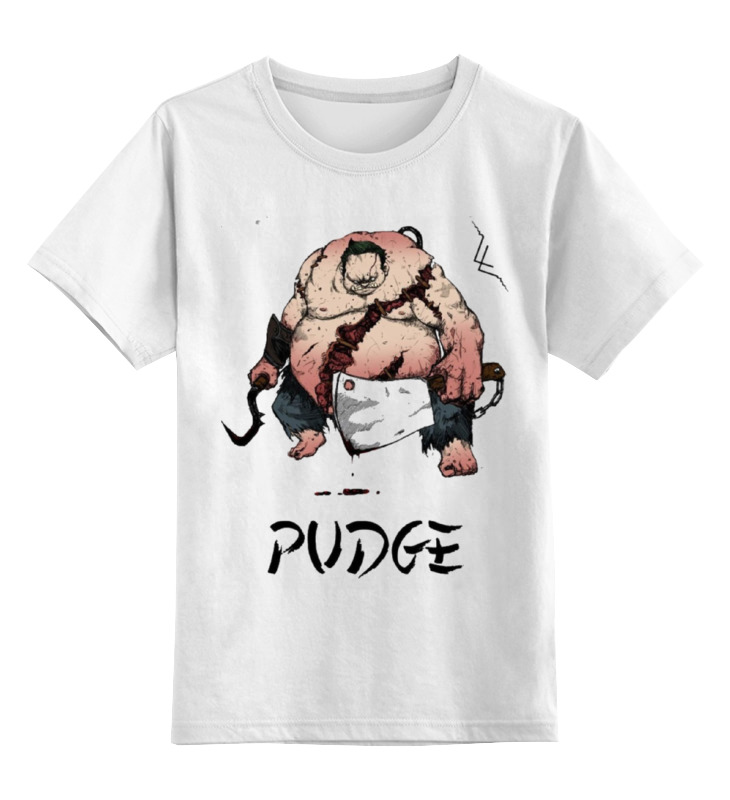 Детская футболка классическая унисекс Printio Dota 2 pudge samurai детская футболка классическая унисекс printio saints row 2 blak