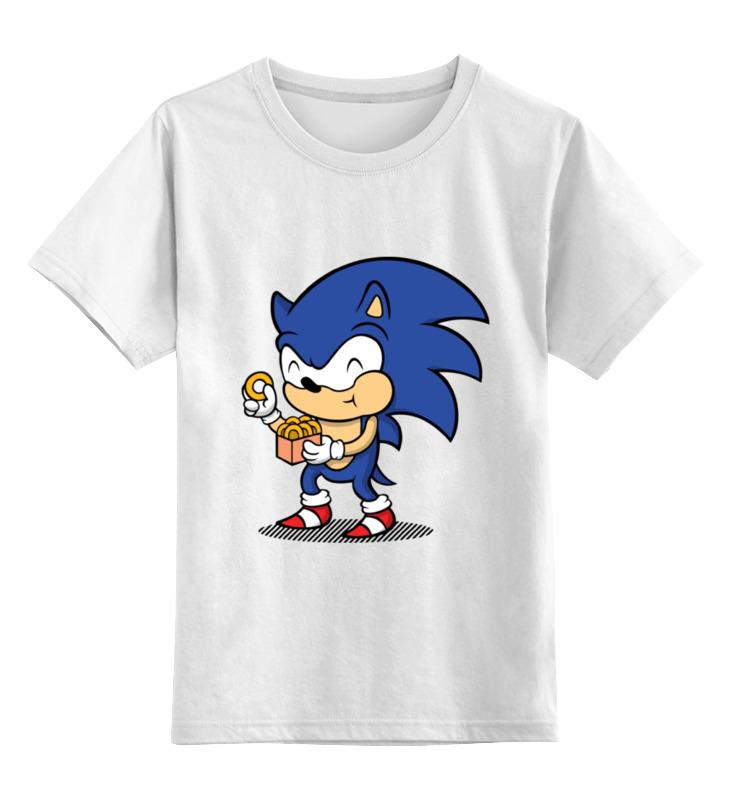 Детская футболка классическая унисекс Printio Соник  ( sonic ) футболка классическая printio соник sonic