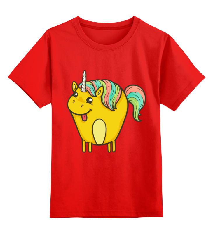 Детская футболка классическая унисекс Printio Единорог детская футболка классическая унисекс printio классическая футболка dota 2
