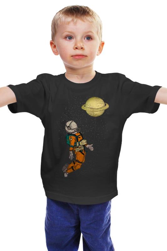 Детская футболка классическая унисекс Printio Сатурн