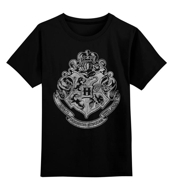 Детская футболка классическая унисекс Printio Хогвартс witchcraft witchcraft legend