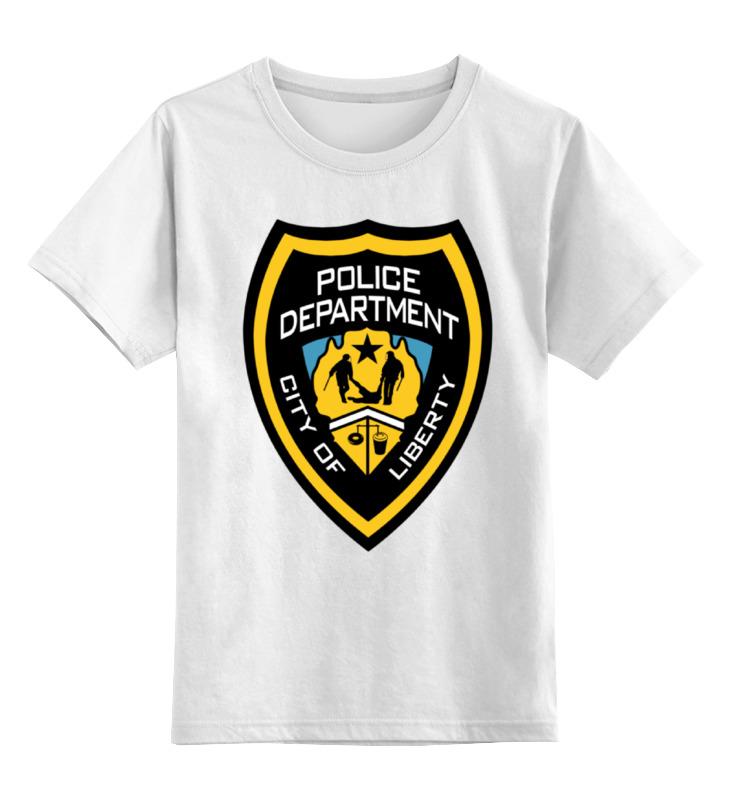 Детская футболка классическая унисекс Printio Lcpd (gta) детская футболка классическая унисекс printio gta 5 dog
