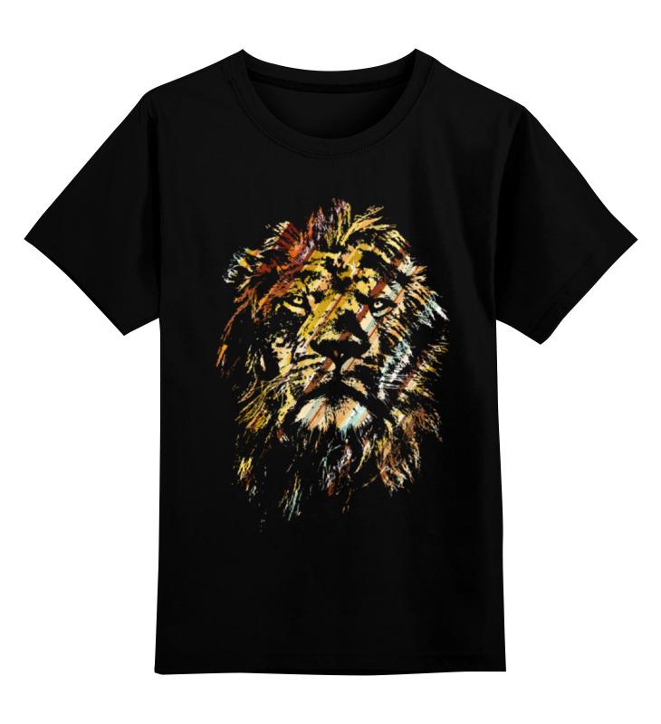 Детская футболка классическая унисекс Printio Царь зверей футболка классическая printio лев царь зверей