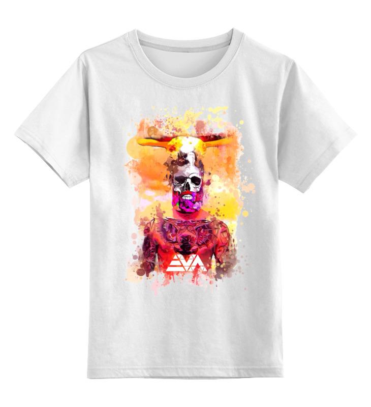Детская футболка классическая унисекс Printio Ядерный бородач ноутбук 5 ядерный
