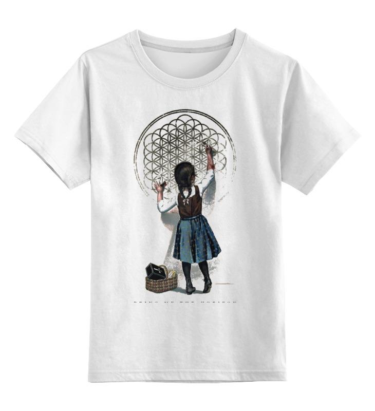 Детская футболка классическая унисекс Printio Bring me the horizon девочка