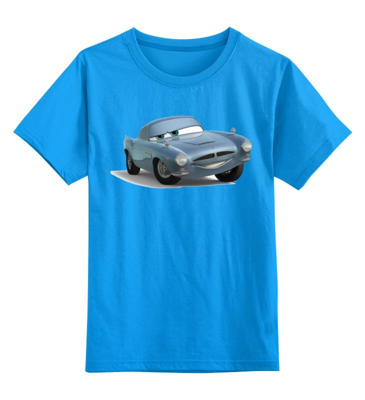Детская футболка классическая унисекс Printio Фин макмисл тачки disney гирлянда детская на ленте тачки с днем рождения