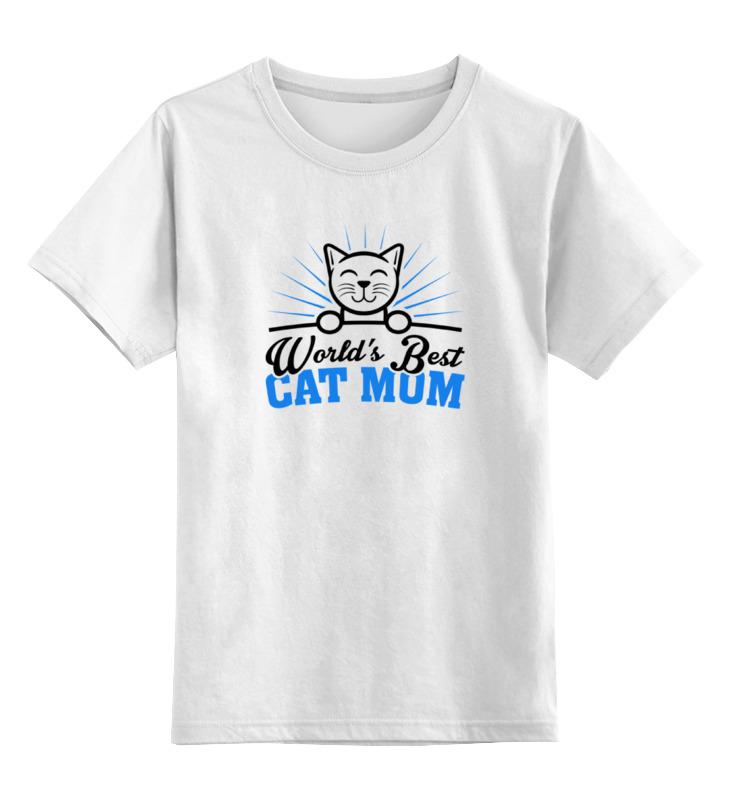 Детская футболка классическая унисекс Printio Кошатница sbart upf50 rashguard 2 bodyboard 1006
