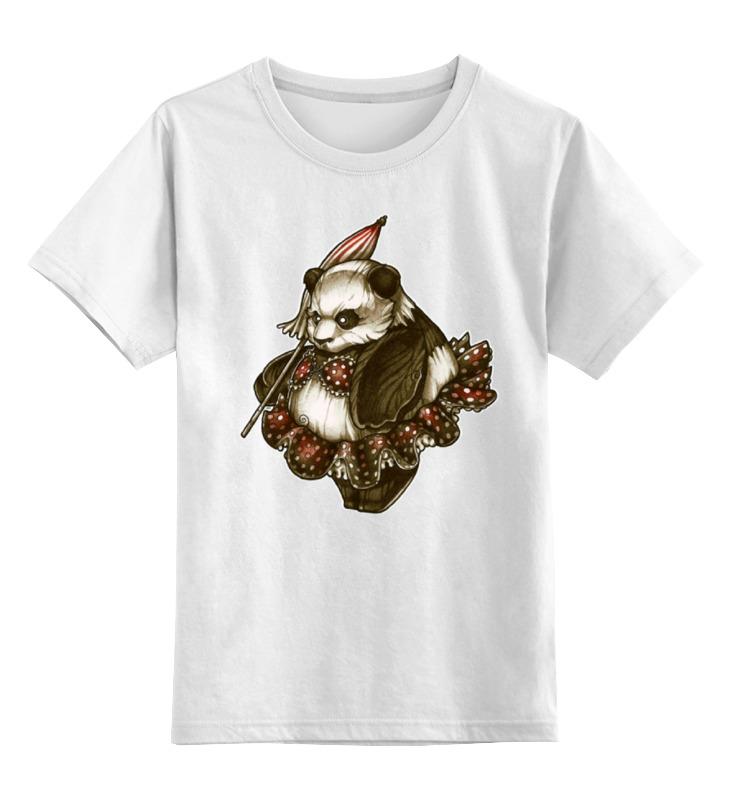 Детская футболка классическая унисекс Printio Panda girl детская футболка классическая унисекс printio tank girl
