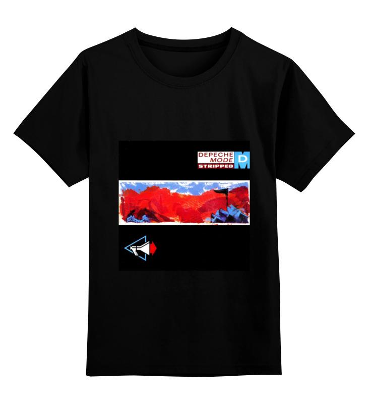 Детская футболка классическая унисекс Printio Depeche mode depeche mode depeche mode black celebration