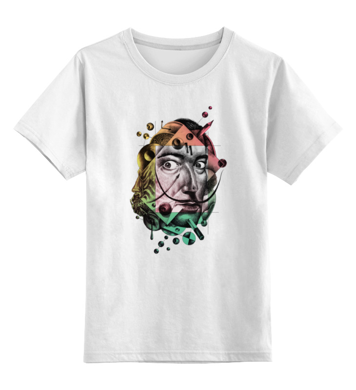 Детская футболка классическая унисекс Printio Сальвадор дали детская футболка классическая унисекс printio сальвадор дали