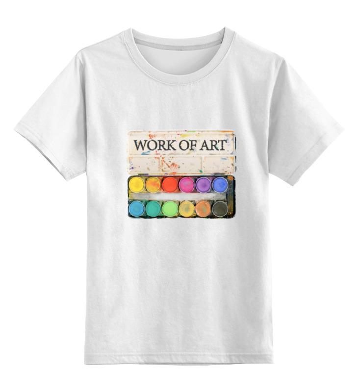 Детская футболка классическая унисекс Printio Художник детская футболка классическая унисекс printio медсестра