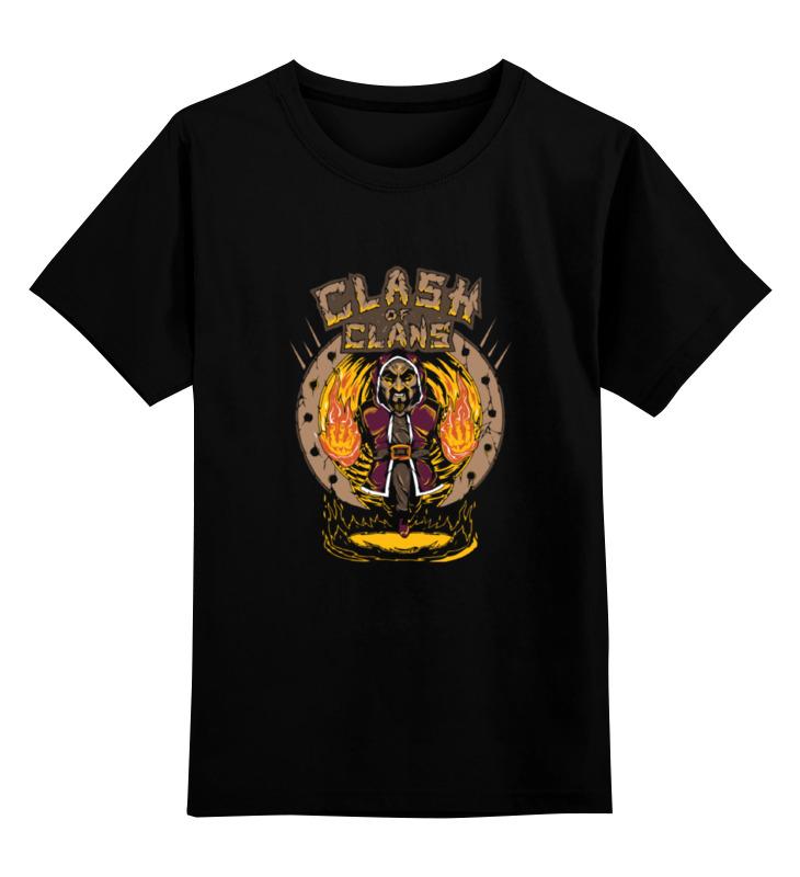 Детская футболка классическая унисекс Printio Столкновение кланов (clash of сlans) детская футболка классическая унисекс printio столкновение кланов