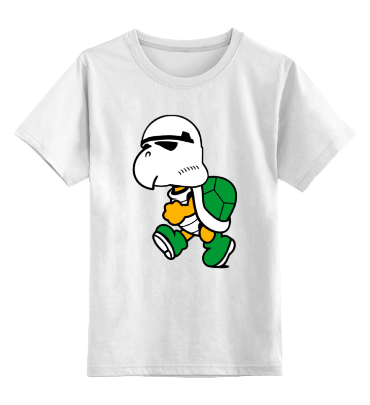 Детская футболка классическая унисекс Printio Черепаха штурмовик детская футболка классическая унисекс printio черепаха