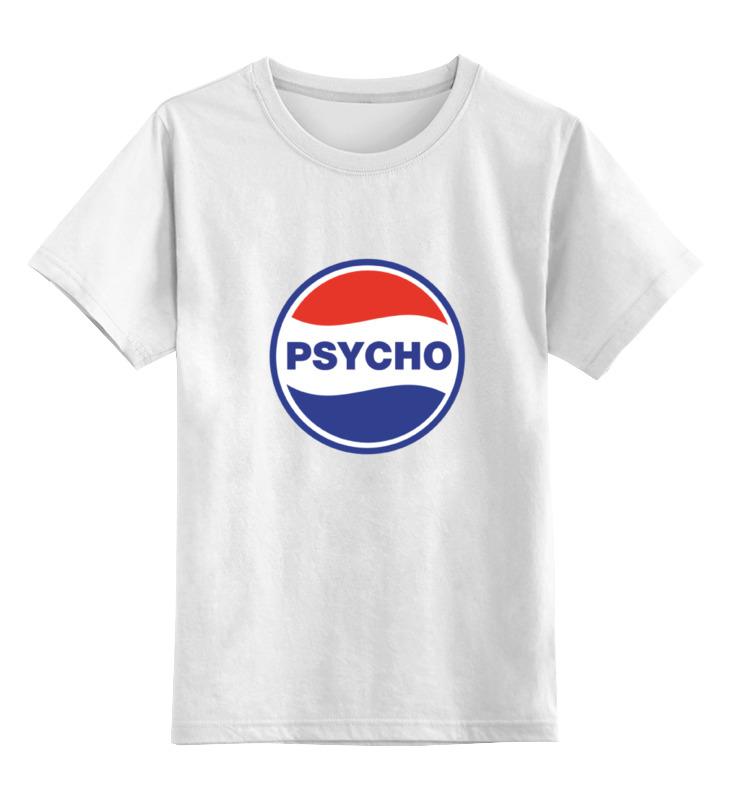 Детская футболка классическая унисекс Printio Psycho