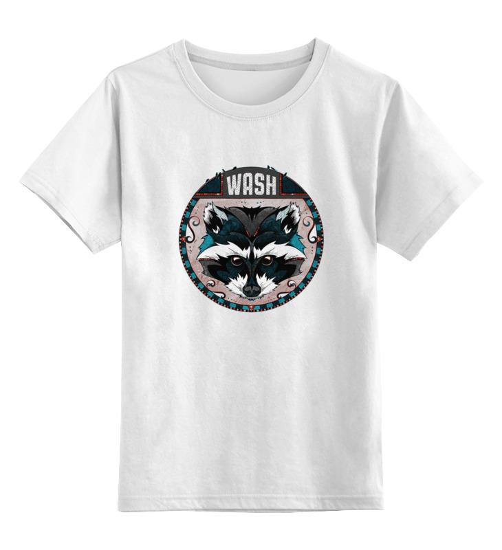 Printio Енот детская футболка классическая унисекс printio милый енот