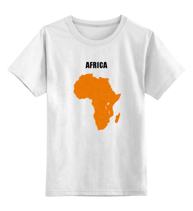 Детская футболка классическая унисекс Printio Африка 5 детская футболка классическая унисекс printio html 5