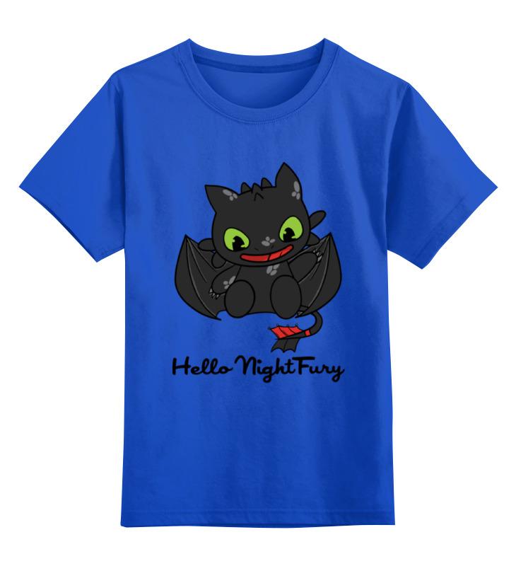 цена на Детская футболка классическая унисекс Printio Hello night fury