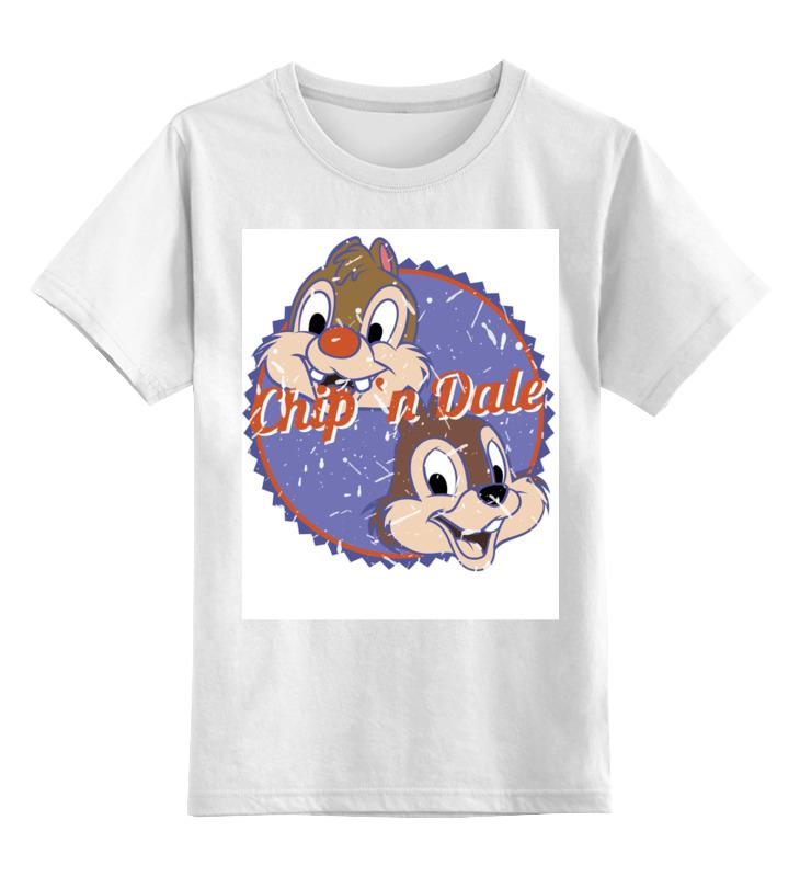 Детская футболка классическая унисекс Printio Чип и дейл толстовка wearcraft premium унисекс printio чип и дейл
