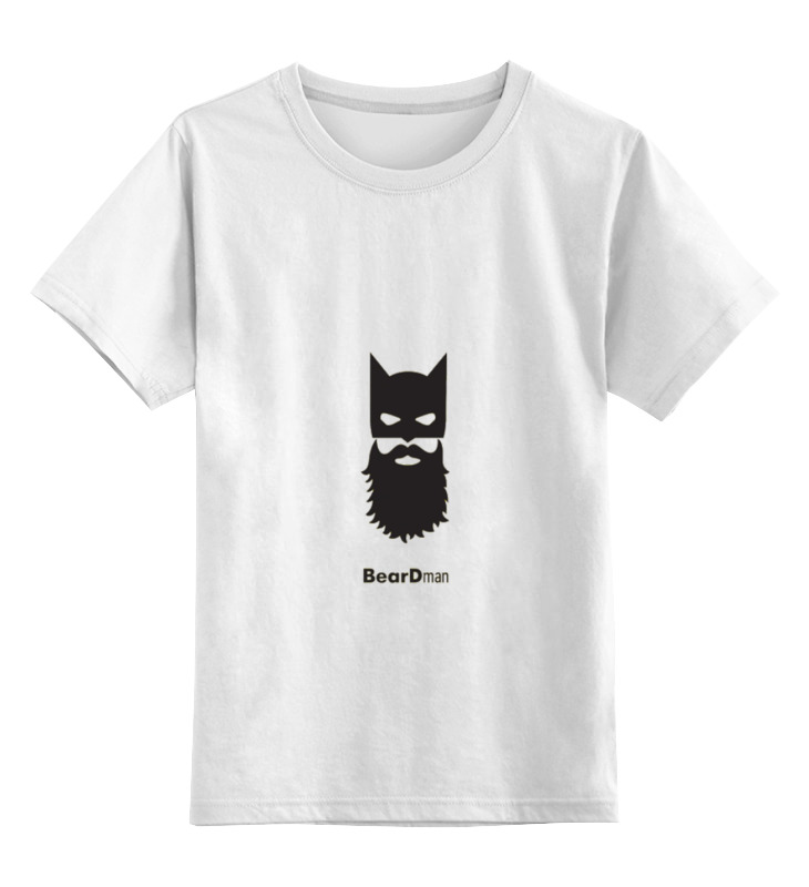 Детская футболка классическая унисекс Printio Beardman цена и фото