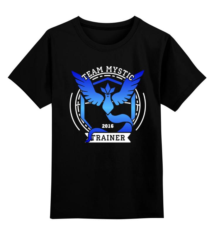 Детская футболка классическая унисекс Printio Покемоны. team mystic детская футболка классическая унисекс printio team who