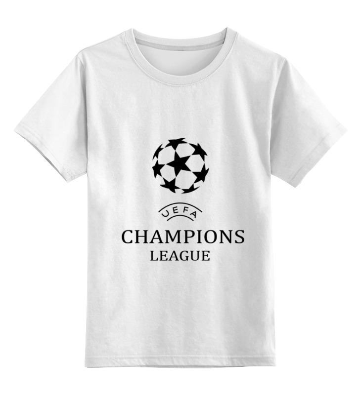 Детская футболка классическая унисекс Printio Uefa 2015-2016