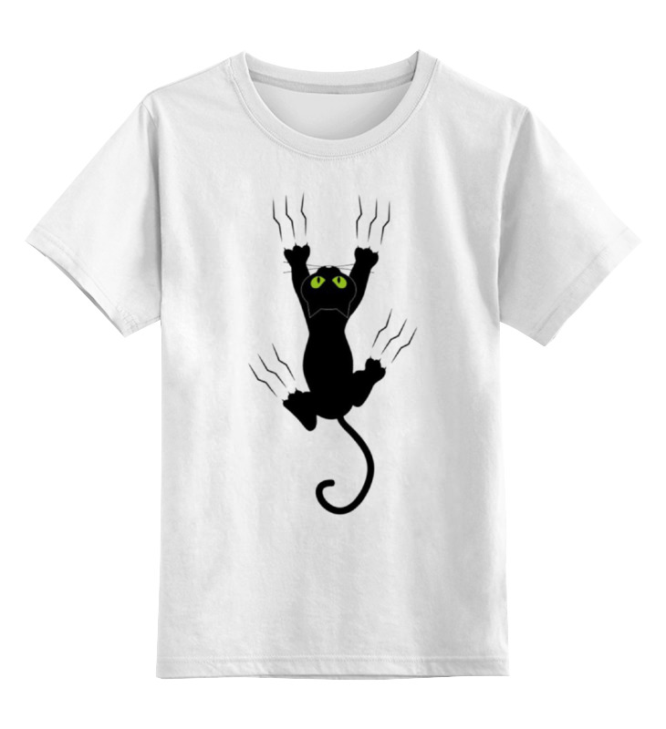 Детская футболка классическая унисекс Printio Чёрная пантера цена и фото