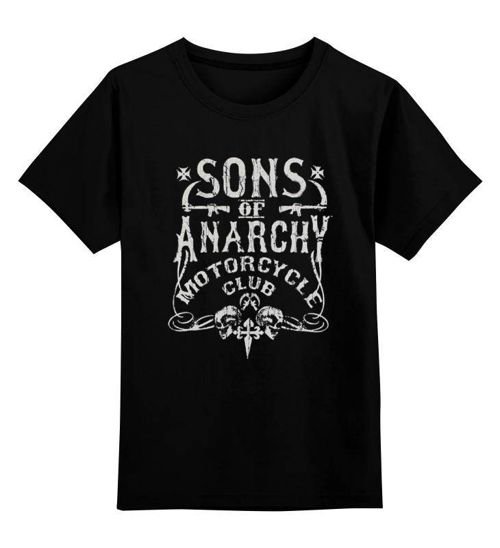 Детская футболка классическая унисекс Printio Sons of anarchy футболка классическая printio sons of anarchy