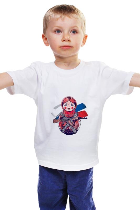 Детская футболка классическая унисекс Printio Матрешка детская футболка классическая унисекс printio матрешка
