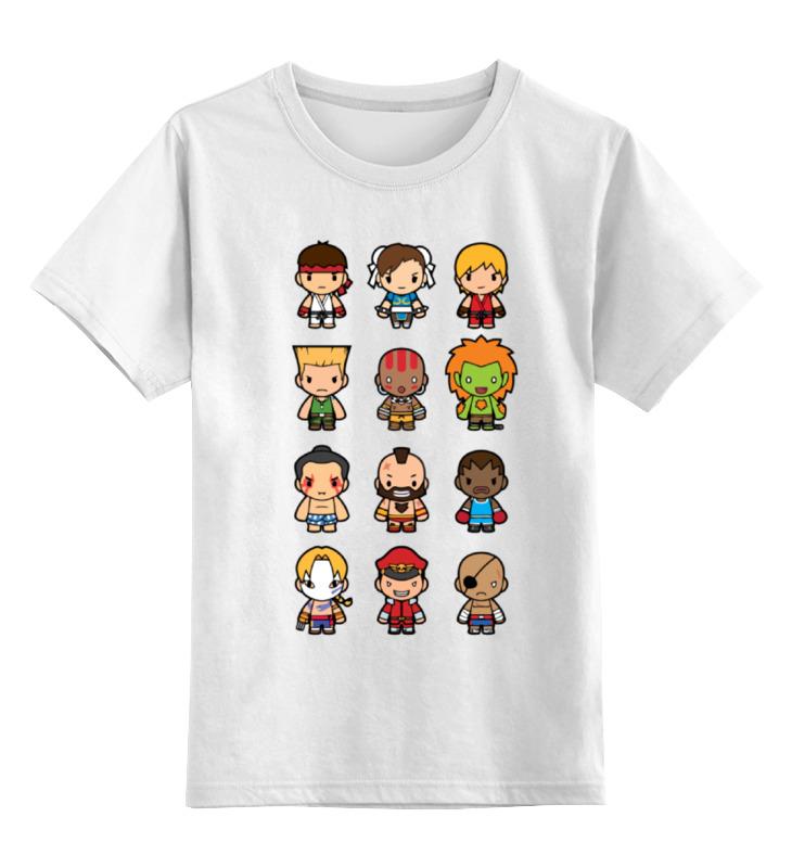 Детская футболка классическая унисекс Printio Уличный боец (street fighter) футболка классическая printio street evolution