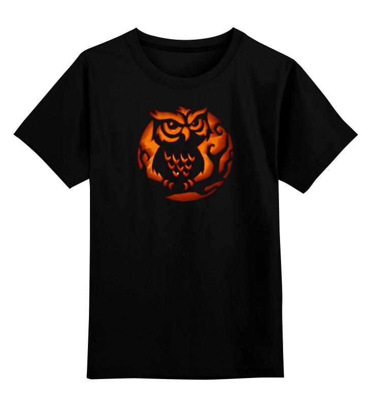 Детская футболка классическая унисекс Printio Огненная сова футболка классическая printio огненная сова