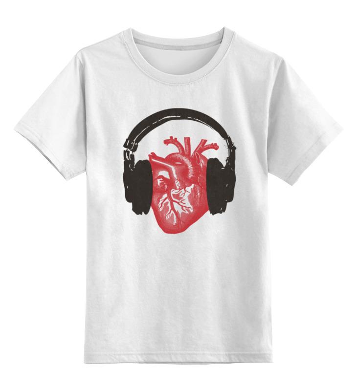 Детская футболка классическая унисекс Printio Love music майка классическая printio ultra music