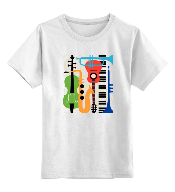 Детская футболка классическая унисекс Printio Музыкальные инструменты волшебный мир музыки музыкальные инструменты набор репродукций картин