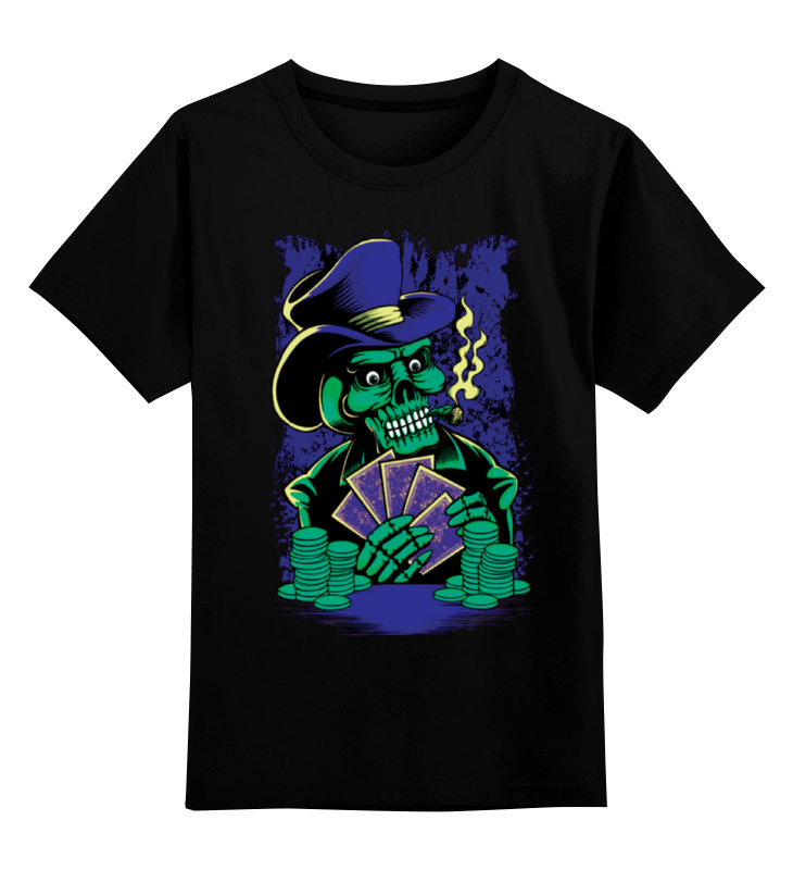 Детская футболка классическая унисекс Printio Покер детская футболка классическая унисекс printio покер poker