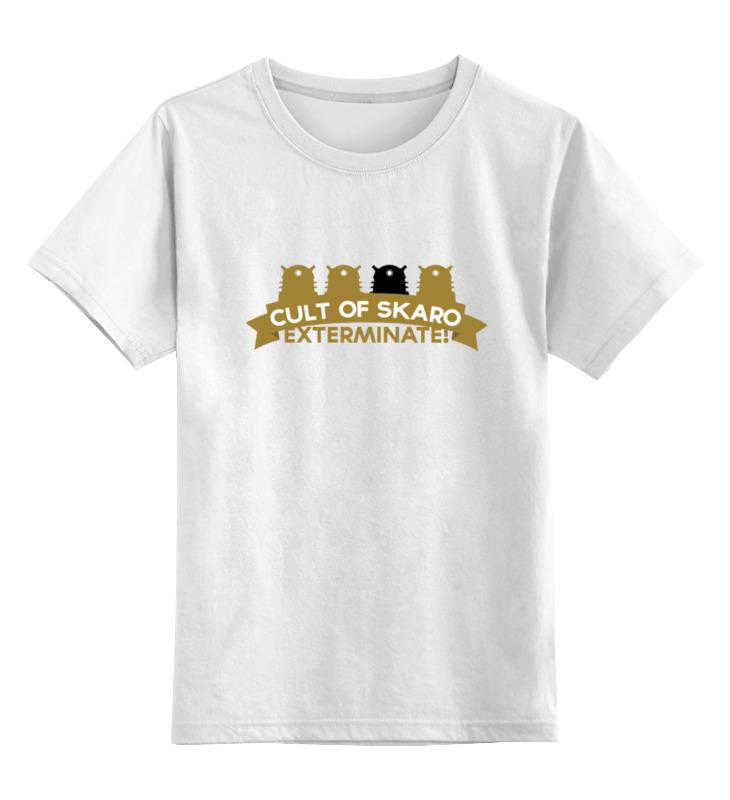 Детская футболка классическая унисекс Printio Футболка мужская cult of skaro