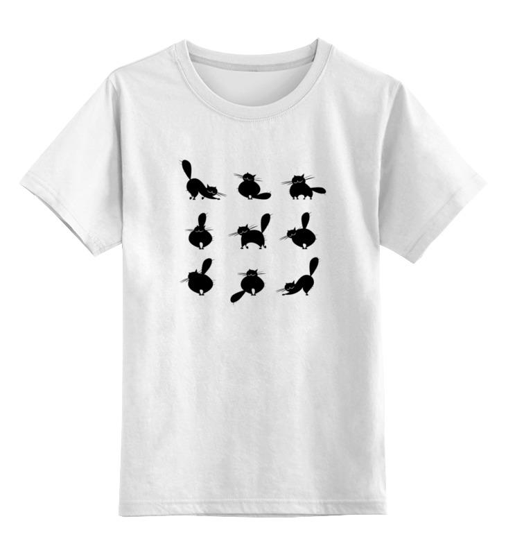 Детская футболка классическая унисекс Printio Кошки 2 детская футболка классическая унисекс printio dota 2 templar assassin miy