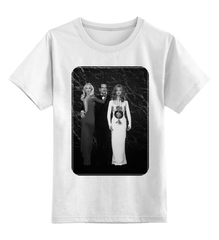 Детская футболка классическая унисекс Printio Смерть ей к лицу