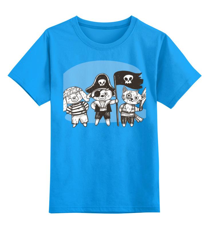 Детская футболка классическая унисекс Printio Пираты детская футболка классическая унисекс printio реальные пираты