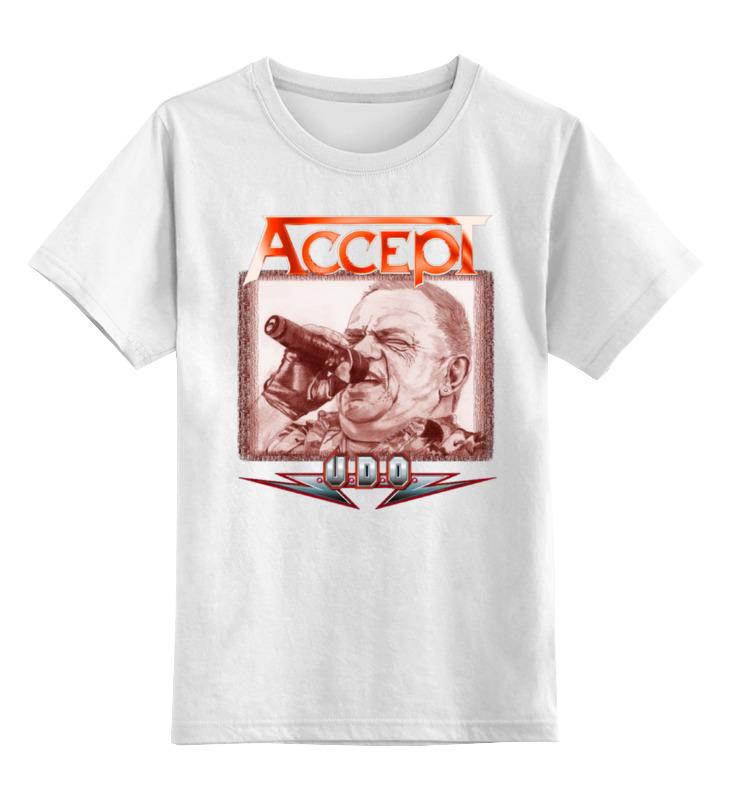 Детская футболка классическая унисекс Printio Udo dirkschneider футболка udo dirkschneider
