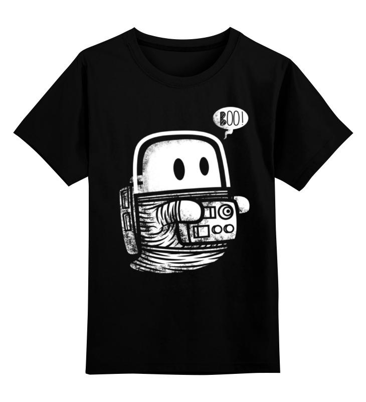 Детская футболка классическая унисекс Printio Космическое привидение детская футболка классическая унисекс printio css привидение