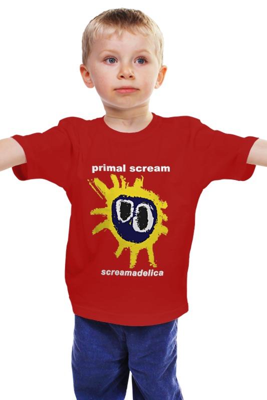 Детская футболка классическая унисекс Printio Primal scream / screamadelica